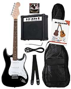 Rocktile Banger's Pack Set guitare électrique 7 pièces (Noir)