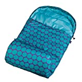 Wildkin Aqua Big Dot Stay Warm Sleeping Bag, One Size