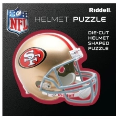 San Francisco 49Ers Team Helmet Puzzle at Amazon.com