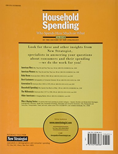 Household Spending: Who Spends How Much On What