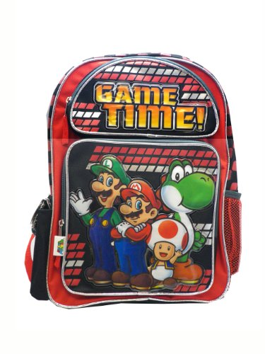 Accessory Innovations Super Mario Game Time! Small Backpack Bag