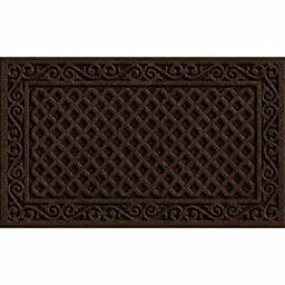 Apache Mills 60-883-1403-18X30 Iron Lattice Entrance Mat, Walnut, 18-Inch By 30-Inch