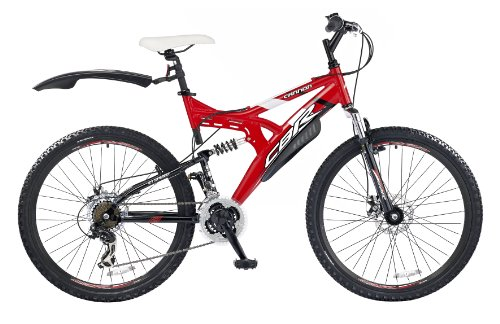 CBR Cannon Men's Bike - Red/Black, 26 Inch