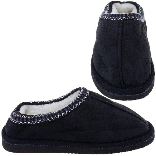 Cheap Black Scuff Slippers for Women (B005Y4SINS)