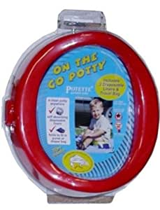 Kalencom Potette, On the Go Potty Red (Discontinued by Manufacturer)