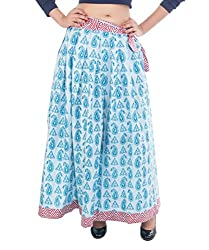 Lal Chhadi Women's Cotton Long Skirts