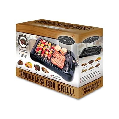 Smart Planet Sig1 Smokeless Indoor Grill Non Stick Surface by Smart Planet