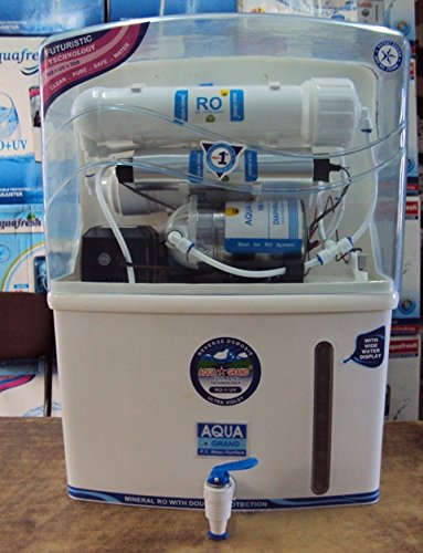 Aquagrand 10 Ltr 1TDS, 2Activated Carbon, 3RO UV UF, 4Post Carbon, Water purifier