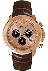 Rotary GS02840-25 Mens Timepieces Chronograph Watch