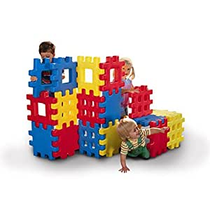 Amazon.com: Big Waffle® Blocks 2 Pack Bundle by Little Tikes 36 Large