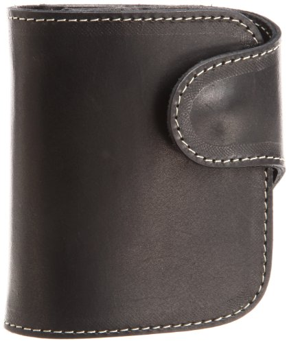 [レッドムーン] redmoon RRC「P-01」レザーウォレット 折りたたみ革財布  P-01 BK (ブラックカラー)