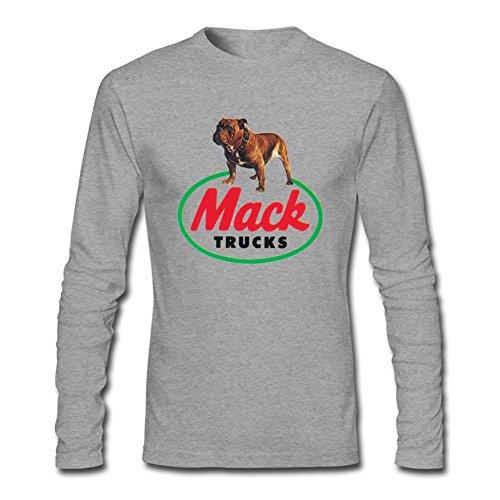 Niceda Men's Mack Trucks Long Sleeve T Shirt (Mack Trucks Shirts compare prices)