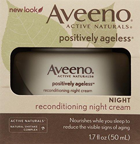 Aveeno 天然活性香菇抗衰老晚霜 50ml图片