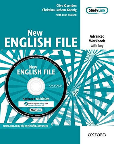 New English File Advanced: Workbook with Multi-ROM Pack (New English File Second Edition)
