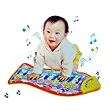 Boutique1583 Fish Shape Piano Educational Music Toy Baby Carpet Mat