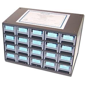 KOA Speer 100 each of 385 values, SMD (Surface Mount) Thin Film Resistor Kit 0603 0.1%, (E96) 15-150K