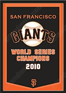 Dynasty Banner Of San Francisco Giants-Framed Awesome & Beautiful-Must For A... by Art and More, Davenport, IA