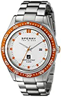 Sperry Top-Sider Men's 10008950 Navigator Analog Display Japanese Quartz Silver Watch from Sperry Top-Sider Watches MFG Code