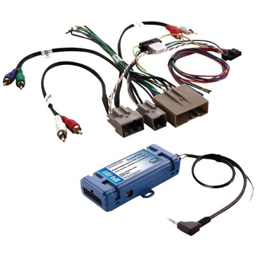 Pac Rp4-Fd11 All-In-One Radio Replacement And Steering Wheel Control Interface (For Select Chrysler Vehicles With Can Bus)-By-Pac