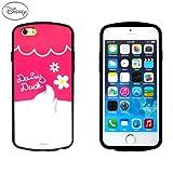 iPhone 6S ケース Disney Back Hug Soft Card Pocket Bumper アイフォン 6S バンパー ケース デイジーダック(Daisy Duck) / 携帯 スマホ スマートフォン モバイル ケース カバー ディズニー シリコン バンパーケース カード 収納 ポケット スロット