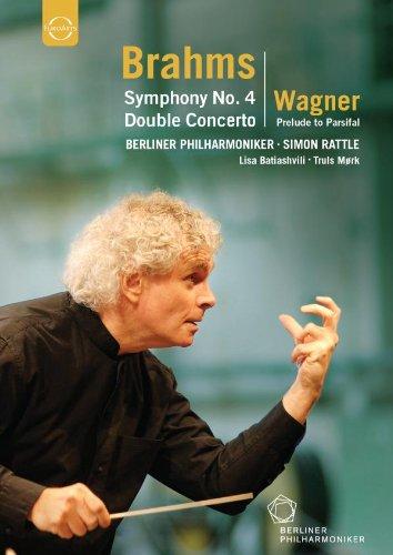��ȥ�&�٥��ե���Υ衼��åѡ�������2007ǯ (Brahms: Symphony No.4, Double Concerto / Wagner: Prelude to Parsifal) [͢��DVD�����ܸ�������]