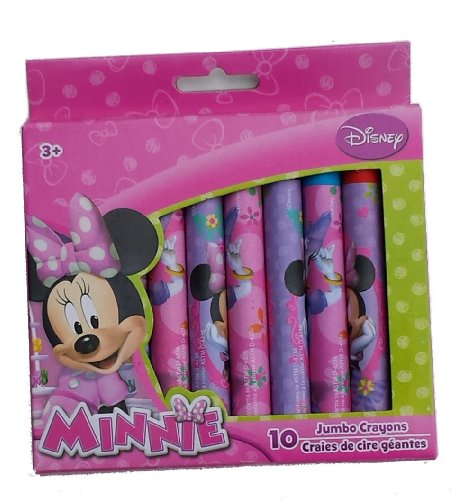 Disney Minnie 10 Jumbo Crayons - 1