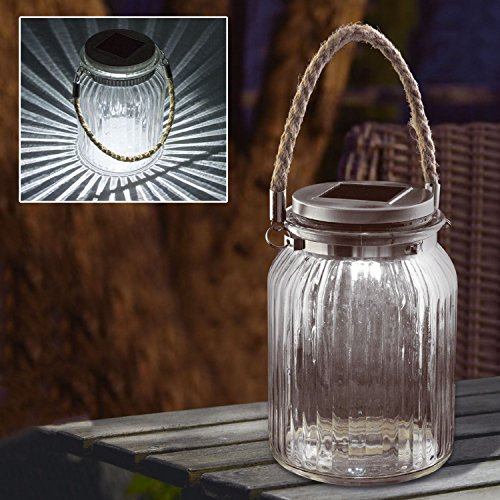 Cheap Solalite Solar Powered Led Cornish Hanging Glass Jar
