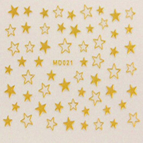evtechtm-8-piezas-nail-conejo-decal-cordon-floral-de-la-historieta-del-oso-del-amor-del-corazon-de-l
