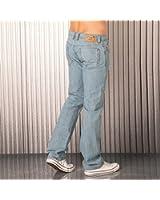 Diesel Jeans Viker 5 poches pour homme, Denim, 100 % Coton, Bouton