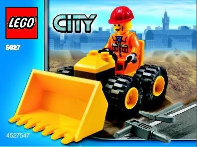 LEGO City Set #5627 Dozer - 1