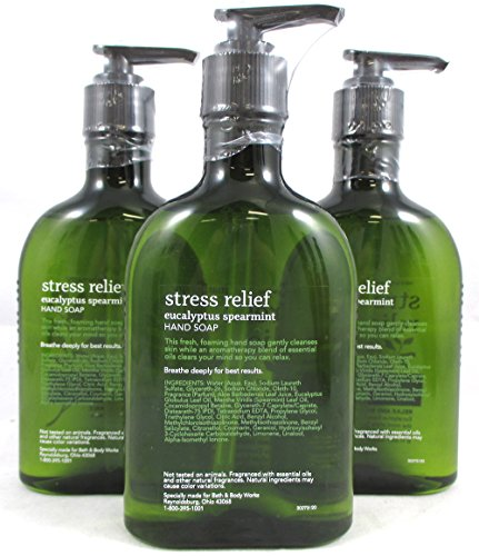 Lot Of 3 Bath Amp Body Works Aromatherapy Stress Relief