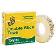 Permanent Double-Stick Tape, 1/2
