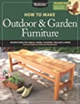 How to Make Outdoor & Garden Furnitur...