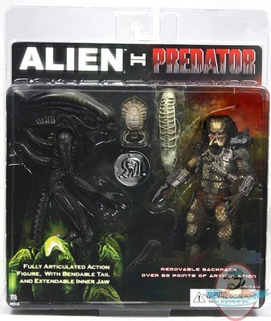 Picture of NECA Alien VS. Predator NECA Exclusive Action Figure 2 Pack Alien Vs. Predator (B004GPDCH8) (NECA Action Figures)