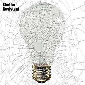 Shatter Resistant - 75 Watt - A19 - Clear - 130 Volt - Rough Service - Halco 6142