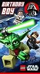 Lego Star Wars Carte d'anniversaire p...