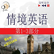 English in Situations. 1-3 - New Edition for Chinese speakers: A Month in Brighton - Holiday Travels - Business English (47 Topics at intermediate level: B1-B2 - Listen & Learn) Audiobook by Dorota Guzik, Joanna Bruska, Anna Kicinska Narrated by  Maybe Theatre Company