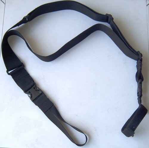 Powerful 3 Point Tactical SWAT Israeli Military Rifle Sling - w  Swivel & Velcro Strap by Machsanit