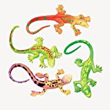 US Toy Lizard Stretchy Toys (1 Dozen)