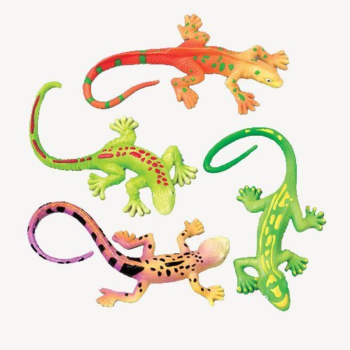 US Toy Lizard Stretchy Toys (1 Dozen)