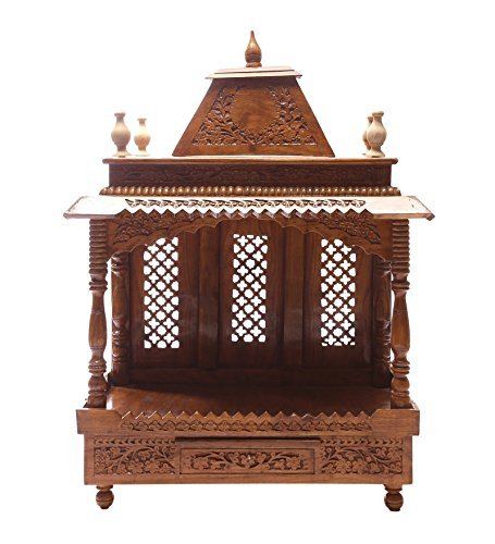 Shilpi Handcrafted Wooden Temple Mandir Wooden Temple Pooja Mandir Mandap Temple