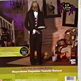 HALLOWEEN LIFESIZE ANIMATED SKELETON BUTLER PROP DECORATION BY GEMMY