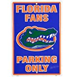 Florida Gators Fans Parking Only NCAA Tin Sign ~ Poster Revolution