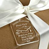 Engraved Graduation gift tag, Personalised Graduation bottle tag