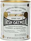 McCann's Steel Cut Irish Oatmeal, 28-Ounce Cans (Pack of 3)