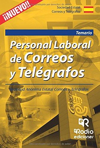 Personal Laboral de Correos y Telégrafos. Temario (OPOSICIONES)