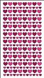 Sticko Glitter Hearts Stickers