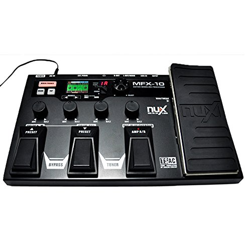 Andoer Nux Mfx-10 Modeling With Multi-Function 55 Effect 72 Preset Processor Guitar Effect Pedal Drum Recorder