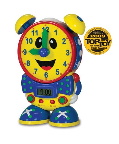 The Learning Journey Telly The Teaching Time Clock (Primary Color Design)