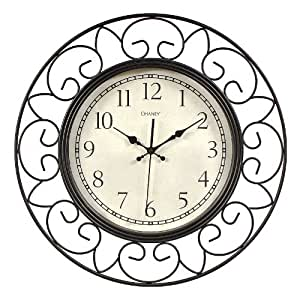 Chaney Wire Wall Clock Home Kitchen